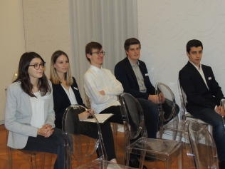 Les élèves en TECH de CO de l'IUT