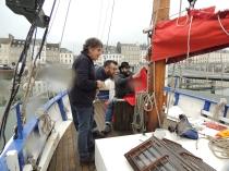 Jean-Pierre, François et Pascal à l'avant